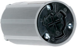 Legrand Turnlok® Black 20/10A 125 volts/250dc 480-Volt Power-Interrupting Connector