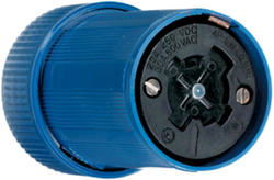 Legrand Turnlok® Black 30/20-Amp 600VAC/250-Voltdc Power-Interrupting Connector