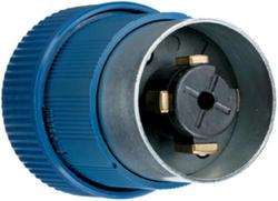 Legrand Turnlok® Black 30/20-Amp600VAC/250-Voltdc Power-Interrupting Plug