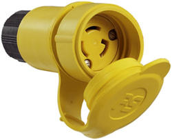 Legrand Turnlok® Yellow 15-Amp 125-Volt Locking Watertight Connector
