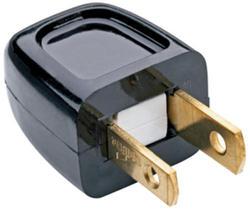 Legrand White 10-Amp 125-Volt Plug