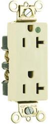 Legrand 15-Amp Hospital Pole-Grade Illuminated Decorator Outlet