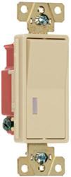 Legrand 20-Amp 1-Pole Illuminated Decorator Switch