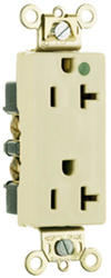 Legrand 20-Amp Hospital Pole-Grade Illuminated Decorator Outlet
