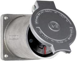 Legrand Turnlok® Black 60-Amp 600-Volt Power-Interrupting Outlet