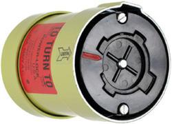 Legrand Turnlok® Black 60-Amp 600-Volt Power-Interrupting Connector