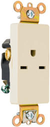 Legrand 15-Amp Decorator Single Outlet