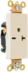 Legrand 20-Amp Decorator Single Outlet