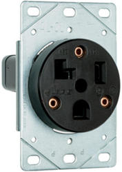 Legrand 30-Amp 125-Volt 3-Wire Flush Power Outlet