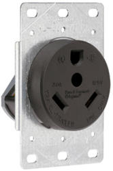 Legrand 30-Amp 125-Volt 3-Wire RV Flush Power Outlet