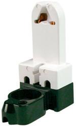 Legrand White Medium Base Fluorescent Lampholder