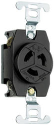 Legrand Turnlok® Black 15-Amp 125-Volt Locking Single Outlet