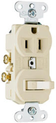 Legrand 1-Pole Toggle Switch/Outlet