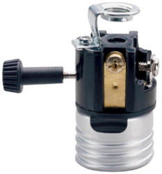 Legrand Medium Base Metal Shell Incandescent Lampholder