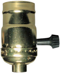 Legrand Medium Base Metal Shell Incandescent Lampholder