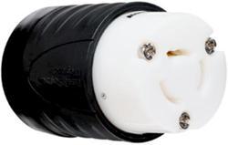 Legrand Turnlok® Black/White 20-Amp125/250-Volt Locking Connector