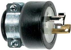 Legrand Turnlok® Black 15-Amp 125-Volt Locking Plug