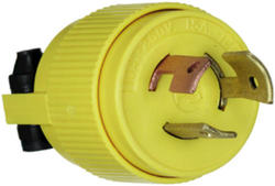 Legrand Turnlok® Yellow 10/15-Amp 250/125-Volt Locking Plug
