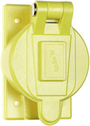 Legrand Yellow 1 Single Outlet Cover