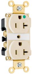Legrand 20-Amp LED Illuminated Hospital Grade Outlet
