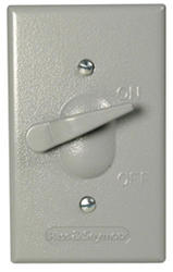 Legrand Gray 1 Toggle Actuating Lever Cover