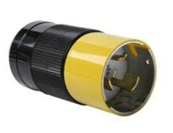 Legrand Turnlok® Black/White 50-Amp 125-Volt Locking Plug