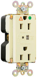 Legrand 15-Amp Hospital Grade TVSS and Isolated Ground Outlet
