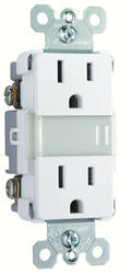 Legrand Pass & Seymour Soft Glow Dual Tamper-Resistant Outlet Energy-Efficient LED Nightlight