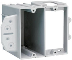 Legrand 22.5 cu in. Dual-Voltage 2-Gang Face-Mount Box