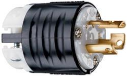 Legrand Turnlok® Black/White 15-Amp 125-Volt Locking Plug