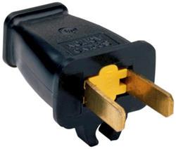 Legrand 15-Amp 125-Volt Plug with Cord Clip