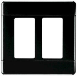 Pass & Seymour  2-Gang Screwless Wall Plate