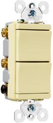 Legrand Pass & Seymour TradeMaster® 2-Single Pole Combo Switch
