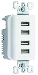 Legrand Pass & Seymour 4.2-Amp Quad USB Outlet