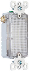 Legrand Pass & Seymour TradeMaster® Decorator Full Hallway Light Use with Louver Plates