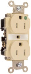 Legrand Pass & Seymour 20-Amp Hospital Pole Grade Tamper-Resistant Outlet