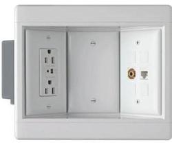 Legrand Pass & Seymour 3-Gang Recessed TV Box Kit