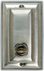Legrand 302 Stainless Steel Dustproof Cover Vertical Decorator/GFCI Outlet Locking Wall Plate