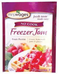No Cook Freezer Jam