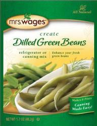 Refrigerator Dilled Green Beans
