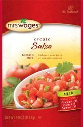 Mild Salsa Canning mix