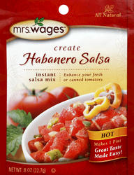 Habanero Salsa Mix