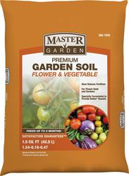 Master Garden™ Premium Garden Soil for Flowers and Vegetables (1.5 cu. ft.)