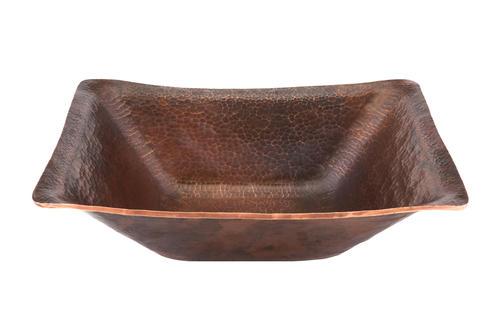 Rectangle Hand Forged Old World Copper Vessel Sink At Menards