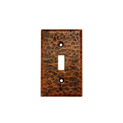 Copper Switchplate Single Toggle Switch Cover