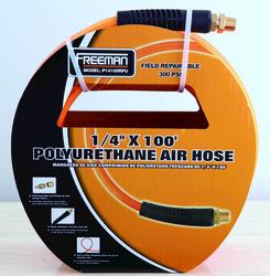 "1/4"" x 100' Braided Polyurethane Air Hose"