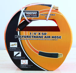 "1/4"" x 50' Braided Polyurethane Air Hose"