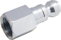 "1/4"" x 1/4"" Zinc Male-to-Female Automotive Plug"