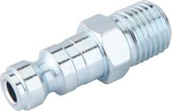 """1/4"""" x 1/4"""" Zinc Male-to-Male Automotive Plug"""