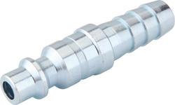 "1/4"" x 3/8"" Zinc Industrial Barbed Plug"